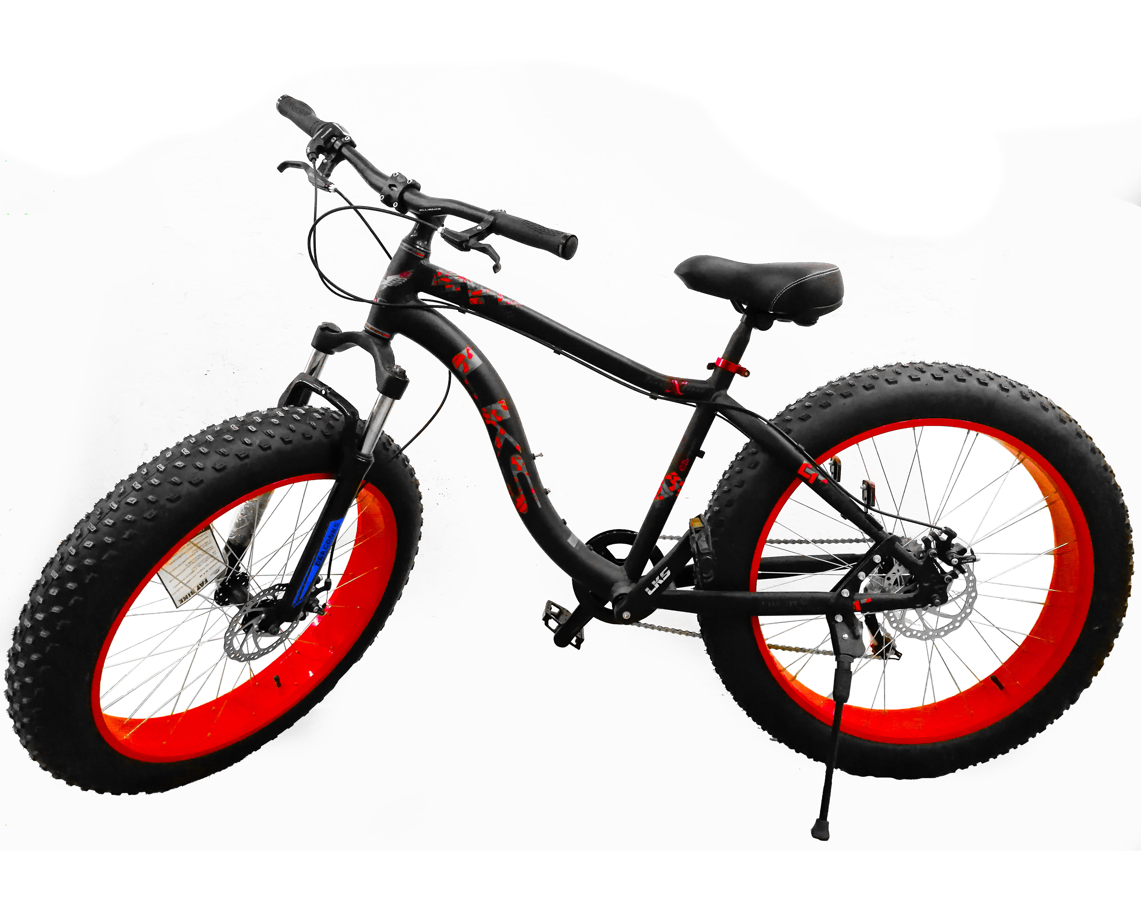Bicicleta Rueda Ancha Fat Bike Rodado 26