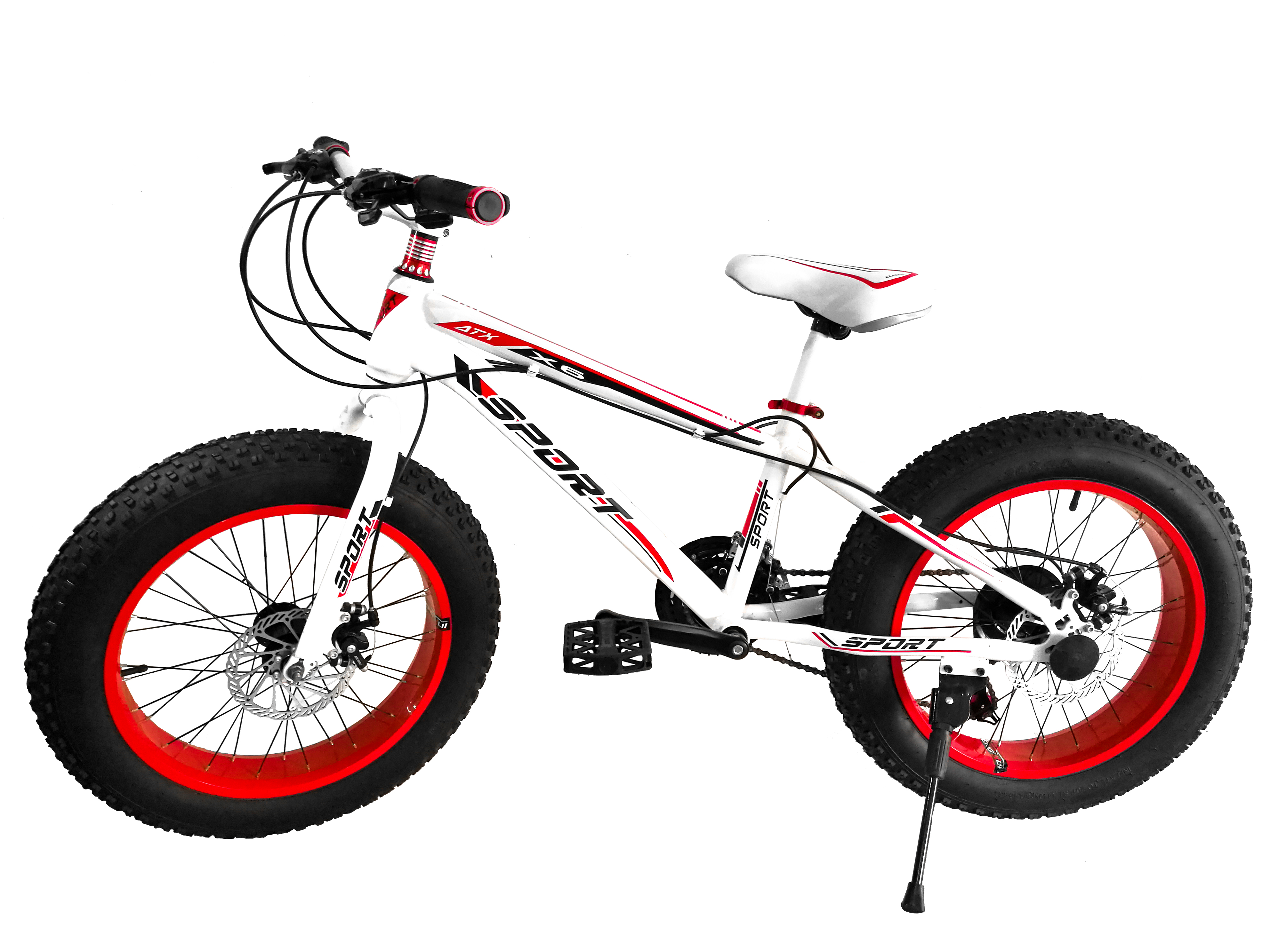 Bicicleta Rueda Ancha Fat Bike Rodado 20