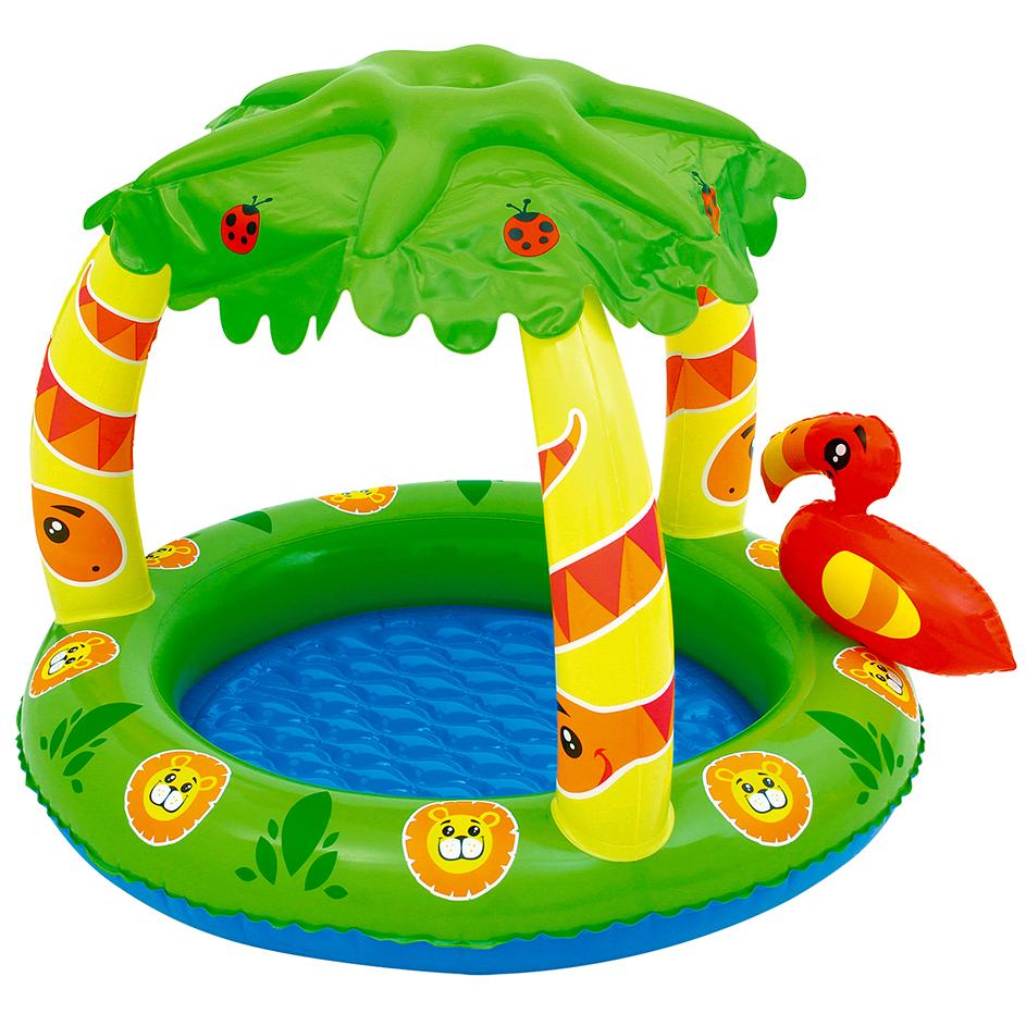 Charrua store piscina jungla para bebe piso inflable con for Piscinas bebes