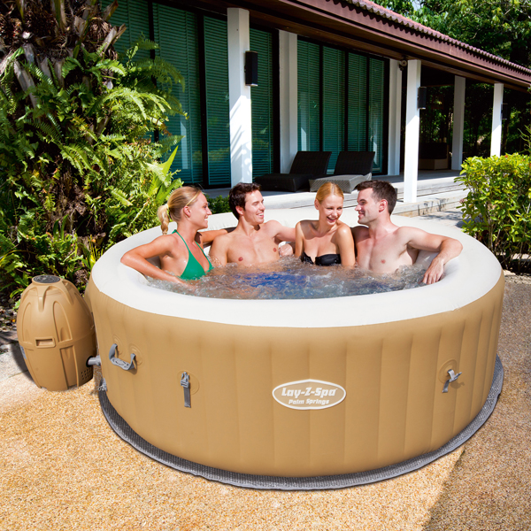 Jacuzzi Inflable Palm Springs Lay-Z-Spa AirJet 963 Litros Bestway