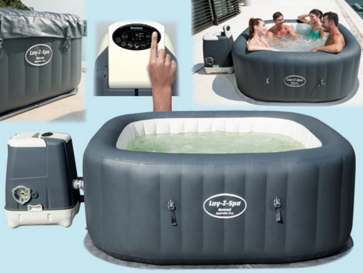 Jacuzzi Inflable Lay-Z-Spa Hawaii HydroJet PRO 795 Litros Bestway