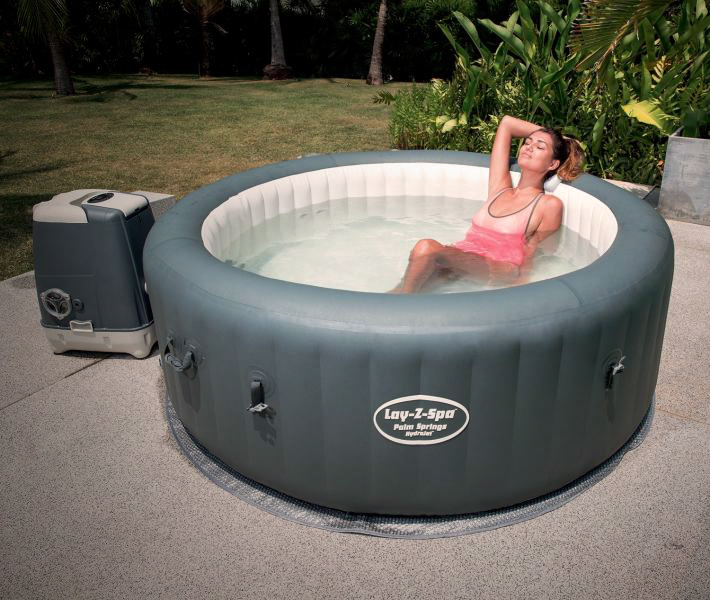 Jacuzzi Inflable Lay-Z-Spa Palm Springs HydroJet 795 Litros Bestway