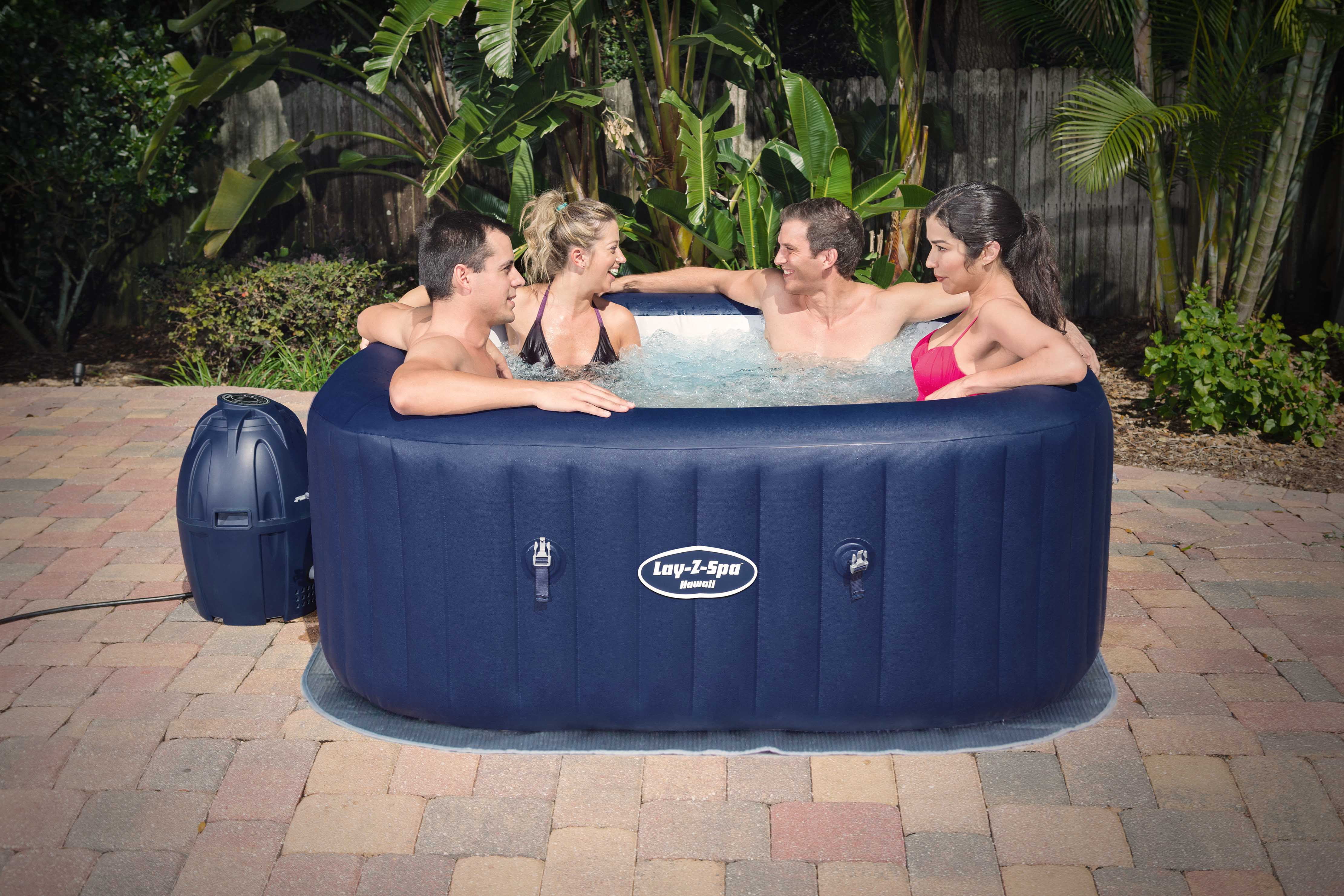 Jacuzzi Inflable Lay-Z-Spa Hawaii AirJet 800 Litros Bestway