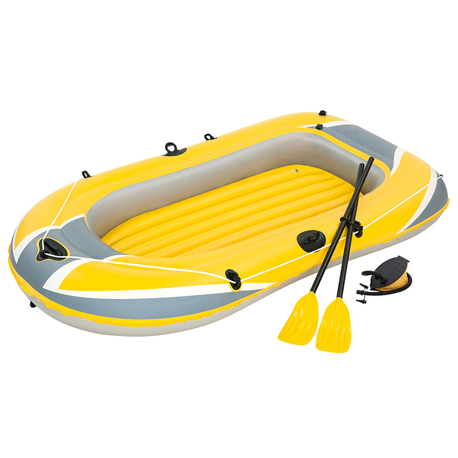 Bote Inflable Hydro Force Raft Con Remos E Inflador Bestway